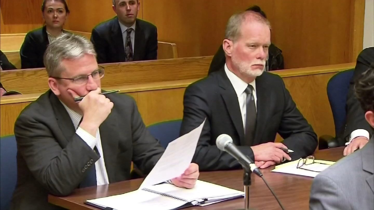 Representatives from Remington Arms during previous lawsuit arguments. (WFSB file photo)