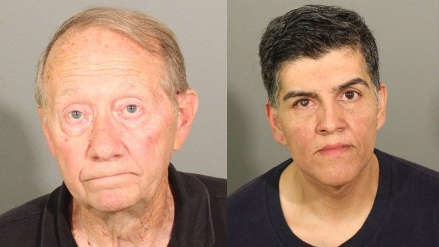 Richard Moynihan and Ferney Arcila-Hernandez. (Danbury police photos)