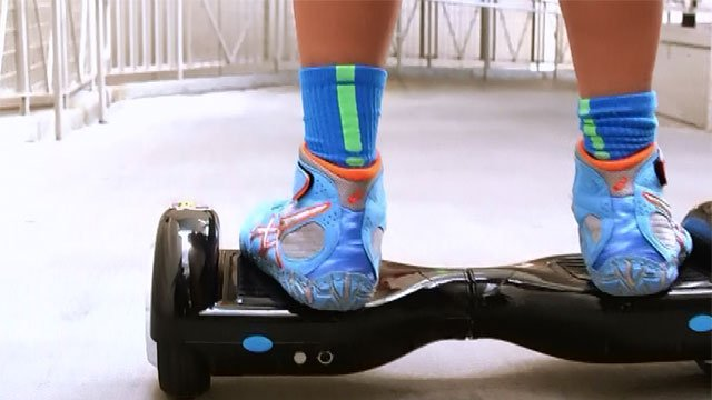 Authorities said 501,000 hoverboards are being recalled due to fire hazard.(CNN Newsource)
