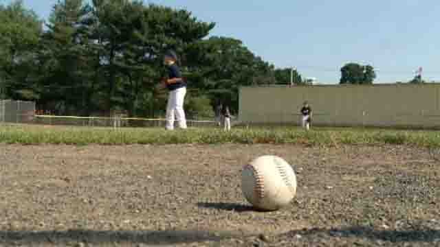 While many people stayed inside on Wednesday in the air conditioning, hundreds of young Connecticut athletes had to hit the field. (WFSB)