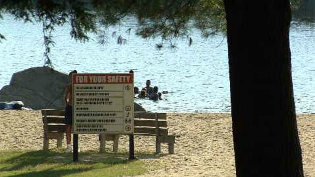 A report of a possible drowning at Burr Pond in Torrington on Wednesday afternoon turned out to be a hoax. (WFSB)