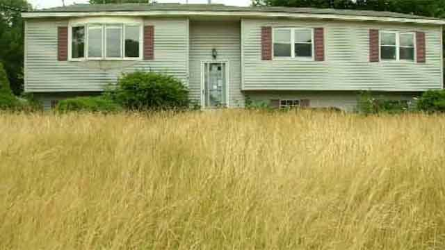 Last week, a Southington home looked like this. (WFSB)