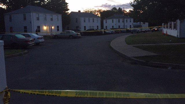 Bristol police said a woman was shot early Monday morning. (WFSB photo)