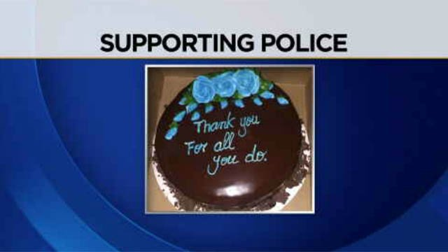 CT police departments continue to see outpouring of support