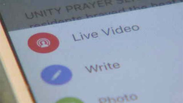Live streaming the world around us through our cell phones is the new reality. (WFSB)