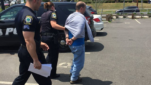 Scott Taylor was arrested in connection with a bank robbery. (Stratford police photo)