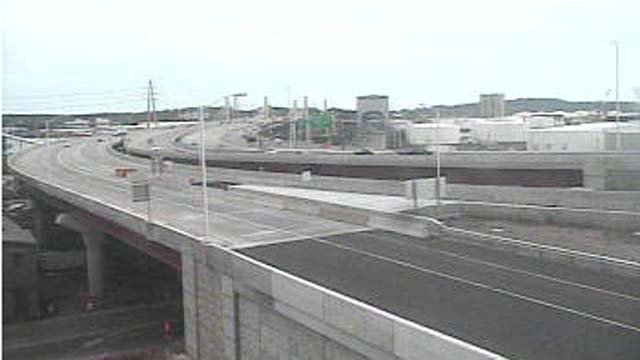 A major lane shift along I-95 in New Haven is expected to tie up traffic this week. (CT DOT)