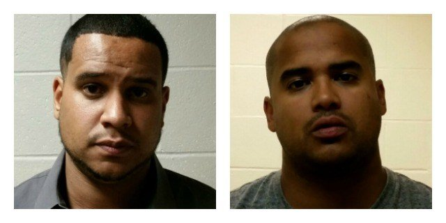 Arnulfo Hiciano and Giovanni Carmona were arrested in connection with the drug seizure. (CT State Police)