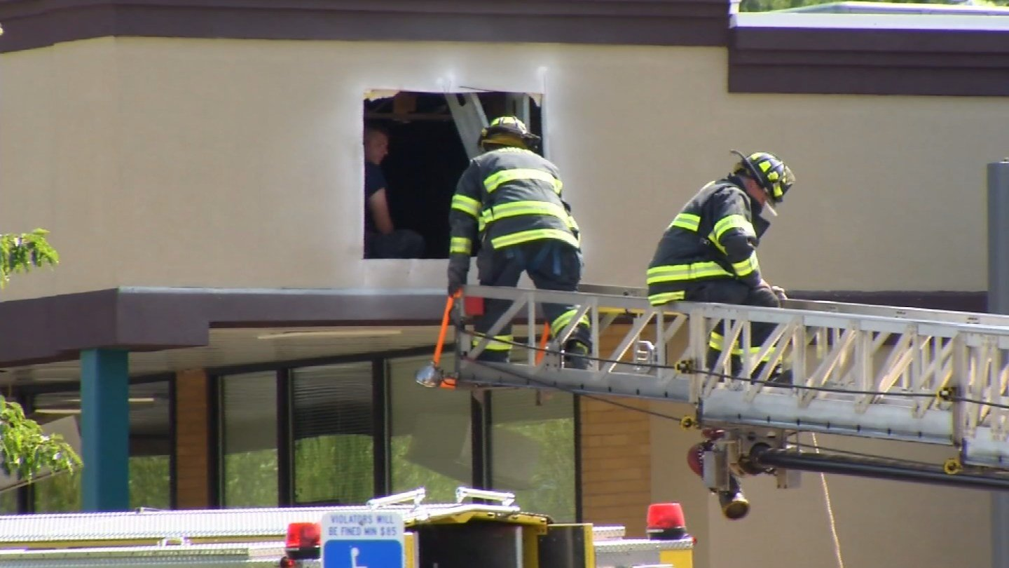 A man's body was found in a crawl space on Wednesday afternoon. (WFSB photo)