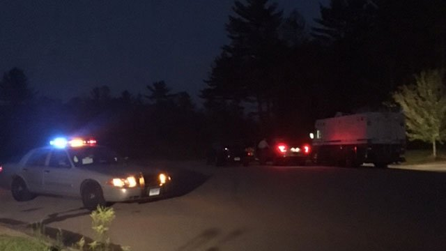 Police investigating the death of a 9-month-old baby girl in Sterling. (WFSB)