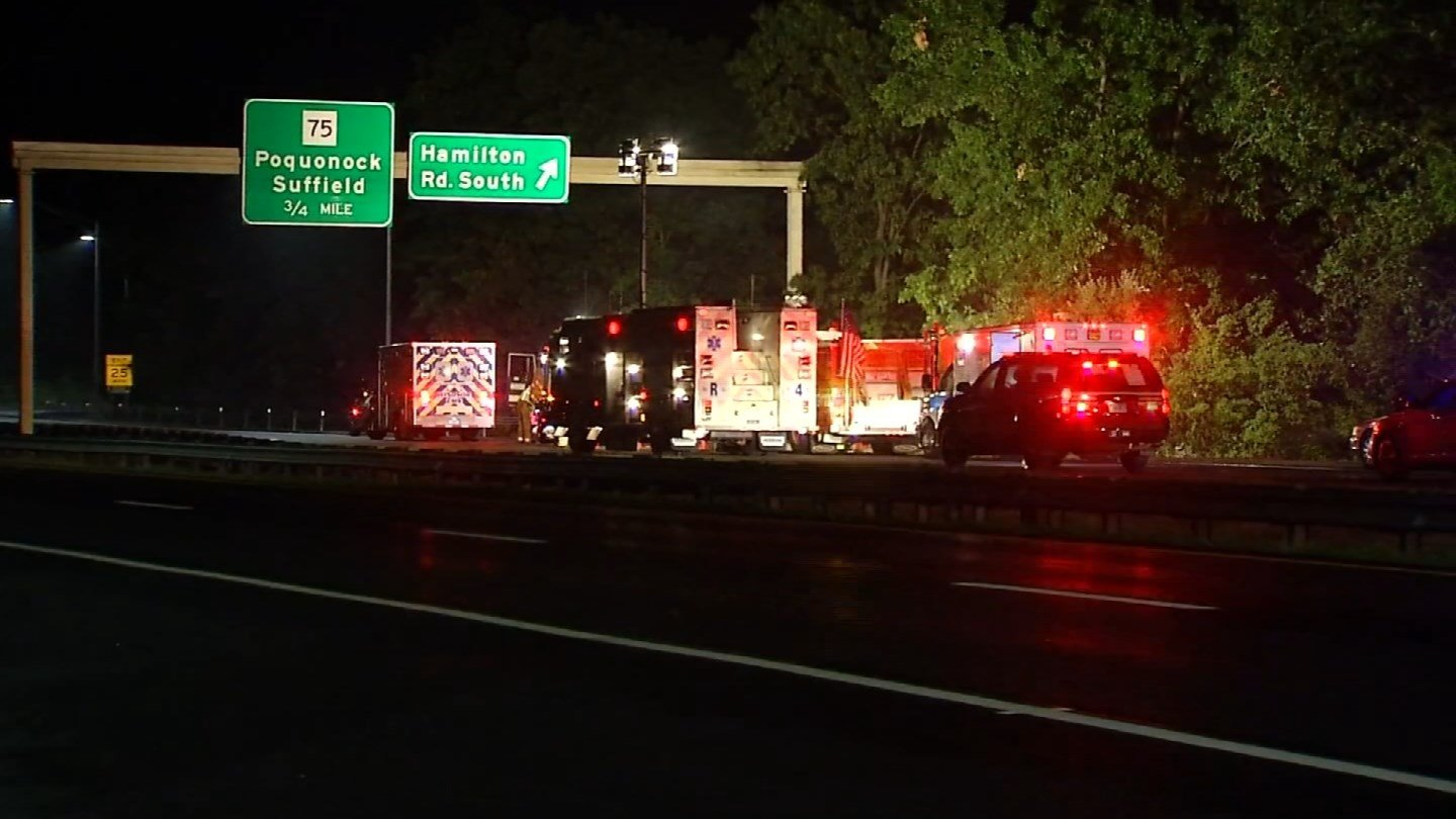 East Granby Fire Chief Peter Ahlstrin was killed in a crash on Route 20 in Windsor Thursday night, according to state police. (WFSB photo)