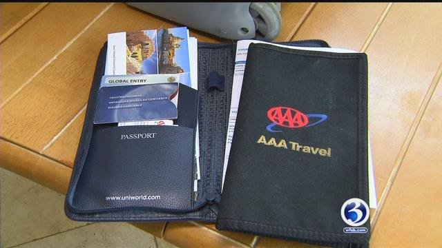 Some travelers said they were worried as they prepared to travel this summer. (WFSB)