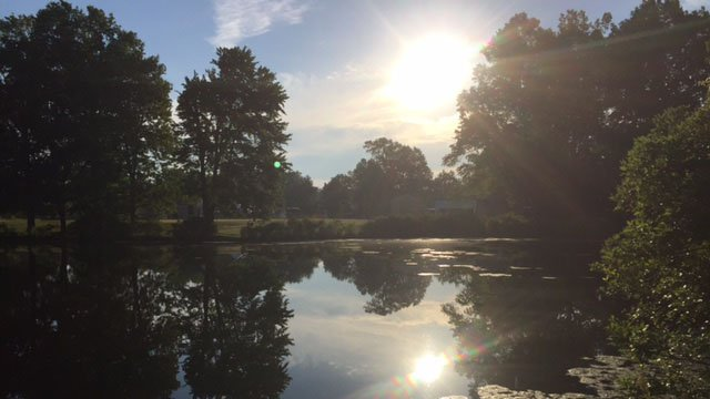 Mill Pond Park in Newington. (WFSB photo)