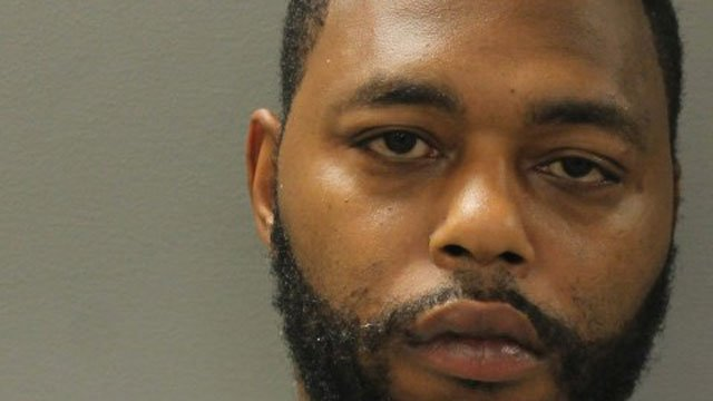 Anthony Washington  was arrested after police said he punched a 15-year-old in the face and strangled 42-year-old after a fight with the two family members on Sunday night. (Hamden Police Department)