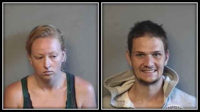 Police arrested 32-year-old Jesse Vernil, and 31-year-old Megan Vincelett. (CT State Police)
