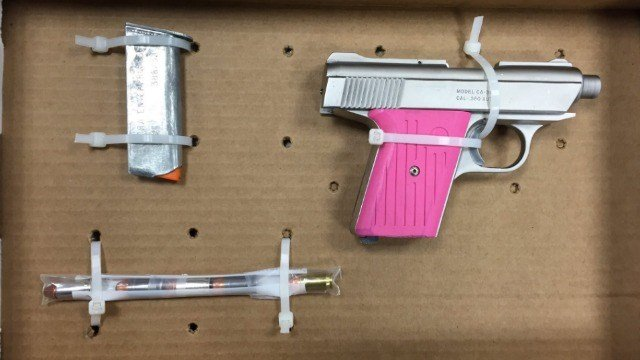Hartford PD arrested Nibert Gomez, 23, was arrested after drugs and a gun was found during a traffic stop. (Hartford PD)