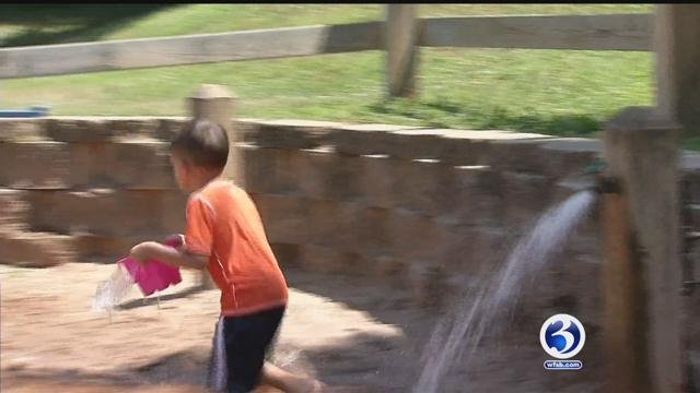 Daycares and camps are taking extra precaution to ensure kids are safe during hot temperatures. (WFSB)