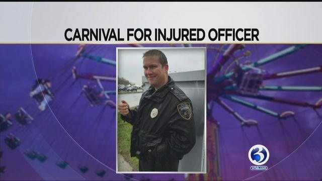 A carnival will be held to raise funds for West Haven police officer Michael Doyle. (WFSB)