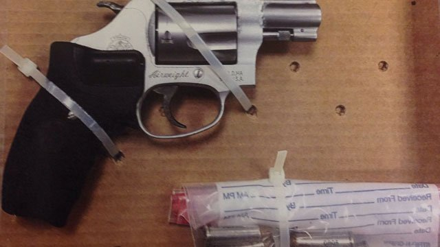 The following items were seized by police during a trespassing arrest. (Hartford Police Department)