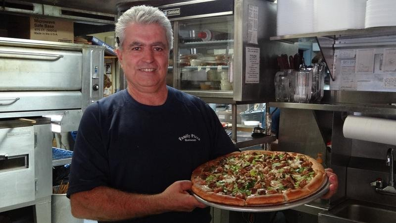 Mike Vassiliou was the owner of Family Pizza in Southington. (Family Pizza website)