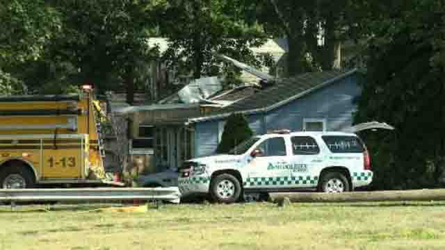 A homeowner says it will take six months to repair his home after a plane crashed into it. (WFSB)