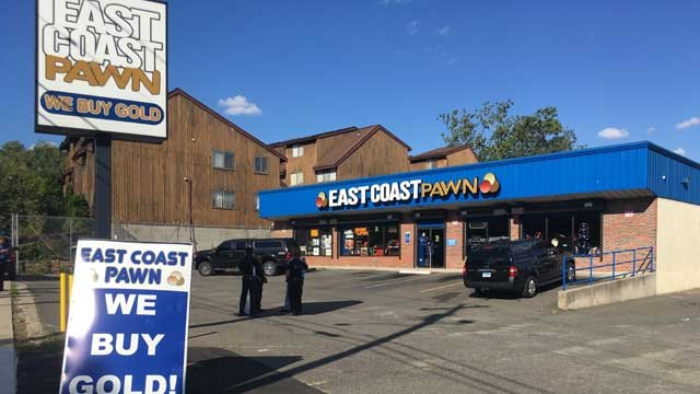 The device was found at East Coast Pawn, and a suspect is reportedly in custody. (WFSB)