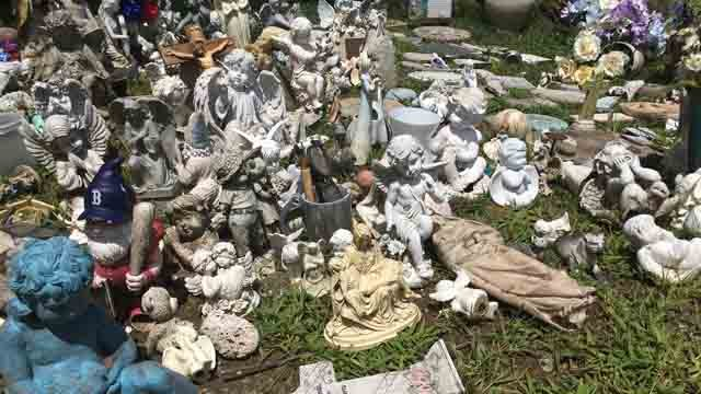Items from graves were thrown away after new rules and regulations were put into place. (WFSB)