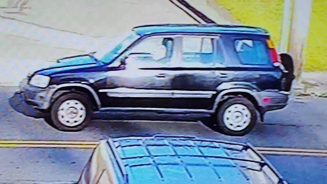 Suspected vehicle involved in a hit and run in Ansonia (Ansonia Police)