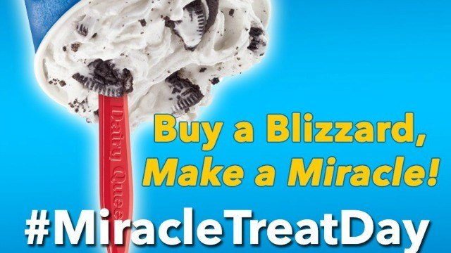 Dairy Queen will hold Miracle Treat Day Thursday. (Dairy Queen)