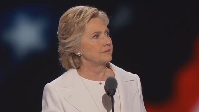 Hillary Clinton (CBS Newspath)