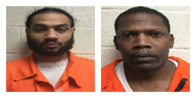 Randall Michaels and Timothy Warren were arrested for a robbery at the Quick Stop convenience store back in December. (Newington Police Department)