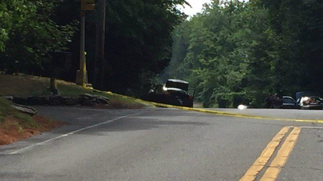 Police said one person is dead and another injured after a crash in Bloomfield Friday morning. (WFSB)