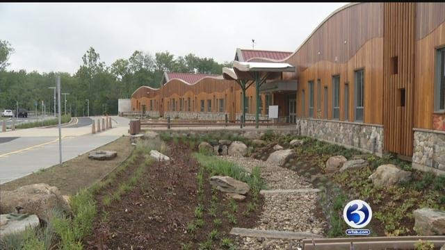 Newtown opens the new Sandy Hook Elementary School on Monday. (WFSB)