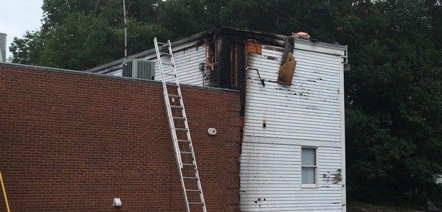 Crews Respond to Church Fire (WFSB)