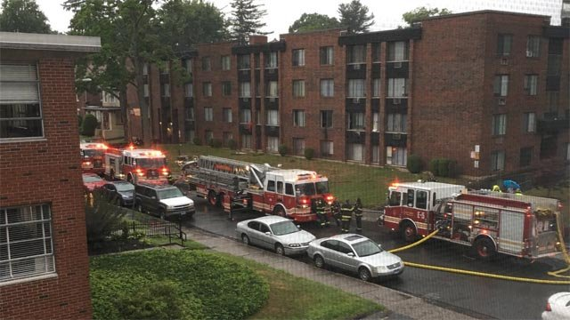 Several people were displaced by an early morning fire in Hartford. (WFSB)