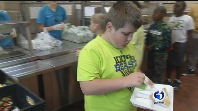 Norwich public schools are hosting a summer program through the U.S. Department of Agriculture. (WFSB)