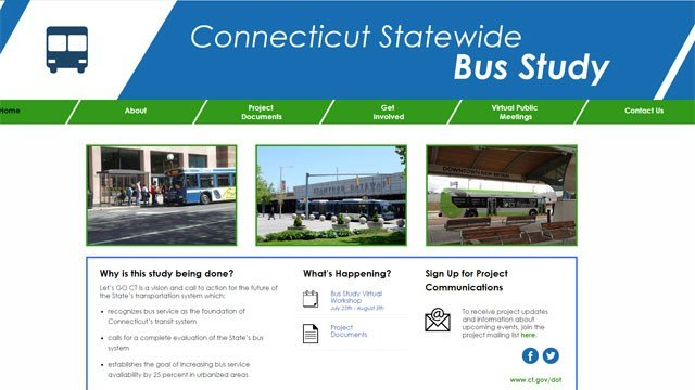 An online public workshop is scheduled to gather input about the state's bus system.