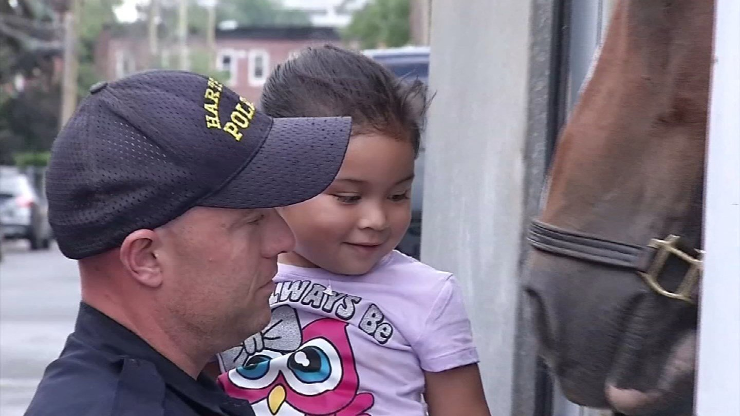 National Night Out in Hartford from a previous year. (WFSB file photo)