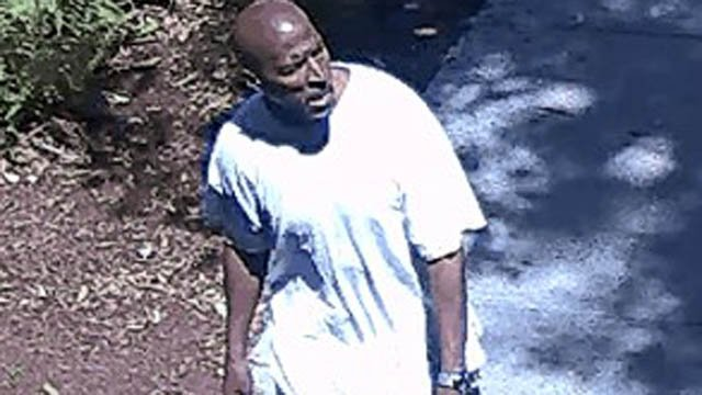 Police in Stratford said this man is suspected of stealing from Town Hall. (Stratford police photo)