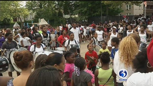 Police departments across the state will be taking part in the national night out.  (WFSB file photo)
