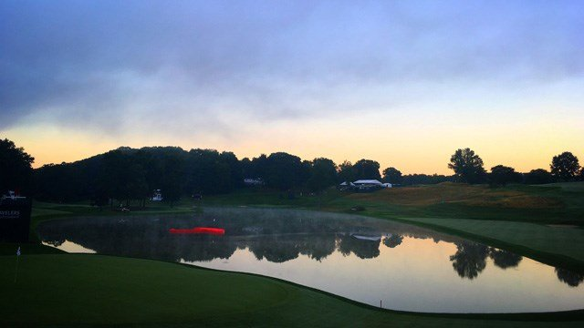 Organizers said they are set for Round 1 of the Travelers Championship. (WFSB photo)