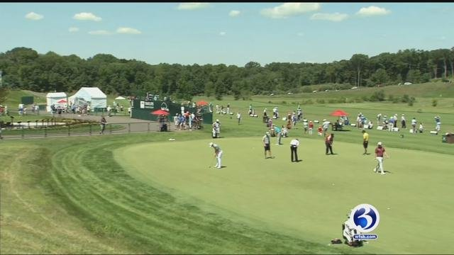 The Travelers Championship released its pairings for the celebrity pro-am. (WFSB file photo)