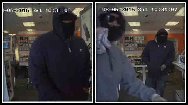 Two suspects are sought in an armed robbery that happened Saturday morning. (East Haven Police)