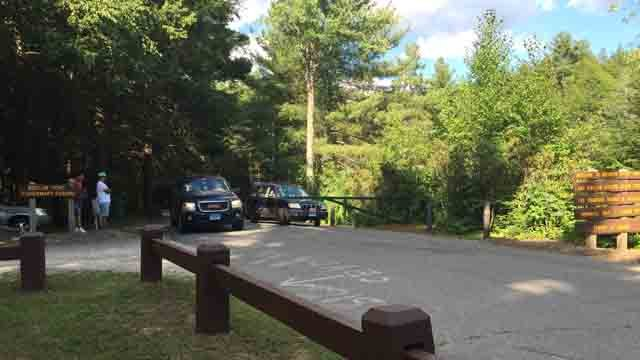 Crews responded to the report of a possible drowning at Bigelow Hollow State Park. (WFSB)