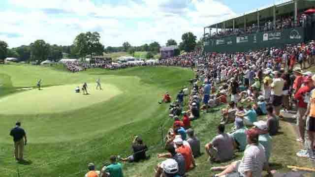 It was a great turnout at the Travelers Championship this year (WFSB)