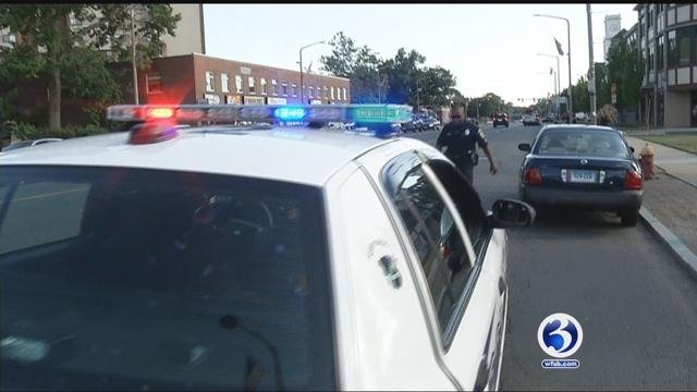 New DOT grant helps cut down on distracted drivers. (WFSB)