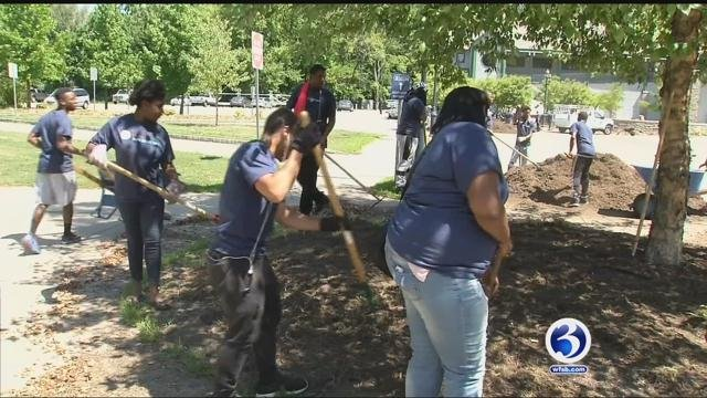 Youth Corps Program kicked off on Tuesday (WFSB)