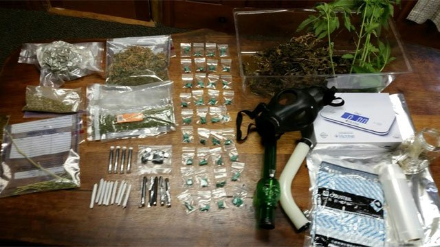 EnCon Police seized the following items from the New Hartford home.