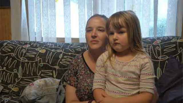 A mother in Enfield said she fears for her daughter's safety after learning her 4-year-old will have to walk to and from school. (WFSB)