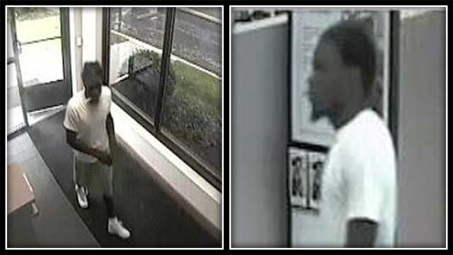 Milford police are searching for a man accused in an armed robbery (Milford Police)